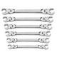 GearWrench 81911 6-Piece Metric Flex Flare Nut Wrench Set