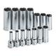 SK Hand Tool 1854 14-Piece 3/8 in. Drive 6 Point Deep Metric Socket Set