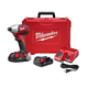 Factory Reconditioned Milwaukee 2657-82CT M18 18V Cordless Lithium-Ion 2-Speed 1/4 in. Hex Impact Driver Kit