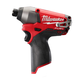 Factory Reconditioned Milwaukee 2453-80 M12 FUEL 12V Cordless Lithium-Ion 1/4 in. Hex Impact Driver (Bare Tool)