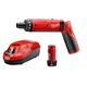 Factory Reconditioned Milwaukee 2101-82 4V Cordless M4 Lithium-Ion 1/4 in. Hex Screwdriver Kit