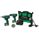 Hitachi KC10DFL2 12V Peak Cordless Lithium-Ion 3-Tool Combo Kit