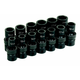 Grey Pneumatic 1313UM 13-Piece 1/2 in. Drive 6-Point Metric Universal Ball Joint Socket Set