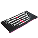 EZ Red WR5ML 5-Piece Extra-Long Locking Flex Head Wrench Set