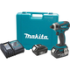 Makita XDT04 18V LXT 3.0 Ah Cordless Lithium-Ion 1/4 in. Hex Impact Driver Kit