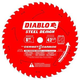 Diablo D0842CF 8 in. 48 Tooth Steel Demon Cermet and Ferrous Metal Saw Blade