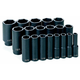 Grey Pneumatic 1319D 19-Piece 1/2 in. Drive 6-Point SAE Deep Impact Socket Set