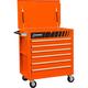 Sunex Tools 8057O Premium Orange Full Drawer Service Cart