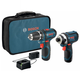 Bosch CLPK22-120 12V Cordless Lithium-Ion 3/8 in. Drill Driver and Impact Driver Combo Kit