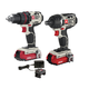 Factory Reconditioned Porter-Cable PCCK602L2R 20V MAX 1.5 Ah Cordless Lithium-Ion 2-Tool Combo Kit