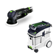 Festool P48571782 Rotex 5 in. Multi-Mode Sander with CT 48 E 12.7 Gallon HEPA Dust Extractor