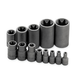 SK Hand Tool 19761 13-Piece 1/4 in. 3/8 in. and 1/2 in. Drive Female Torx Socket Set
