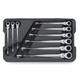 GearWrench 85298 9-Piece SAE X-Beam Flex Combination Ratcheting Wrench Set