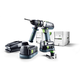 Festool 564596 QUADRIVE 18V 5.2 Ah Cordless Lithium-Ion 13mm Hammer Drill PLUS