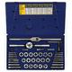 Irwin Hanson 25941 41-Piece Fractional Tap & Adjustable / Solid Round Die Set
