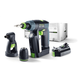 Festool 564535 10.8V 2.6 Ah Cordless Lithium-Ion 3/8 in. Right Angle Drill Driver
