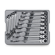 GearWrench 85288 12-Piece Metric X-Beam Flex Combination Ratcheting Wrench Set