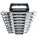 GearWrench 85798 8-Piece SAE XL Locking Flex Combination Ratcheting Wrench Set