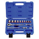 KT PRO A3004SR 15-Piece 3/8 in. Drive 12-Point SAE Standard Socket Set