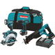 Makita XT406 18V LXT Cordless Lithium-Ion 4-Piece Combo Kit