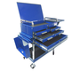 Sunex Tools 8013ABLDELUXE Service Cart with Locking Top and Locking Drawer (Blue)