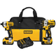 Factory Reconditioned Dewalt DCK296M2R 20V MAX Cordless Lithium-Ion Brushless Hammer Drill and Impact Driver Combo Kit