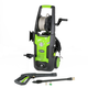 Greenworks 5100402 13 Amp 1,700 PSI 1.2 GPM Electric Pressure Washer