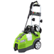 Greenworks 5100902 13 Amp 1,950 PSI 1.2 GPM Electric Horizontal Pressure Washer with Hose Reel