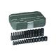 GearWrench 84901 28-Piece Metric 1/4 in. Drive Standard/Deep Impact Socket Set