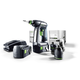 Festool 564616 18V 5.2 Ah Cordless Lithium-Ion Drill Driver and Attachments Kit