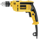 Factory Reconditioned Dewalt DWE5010R 7 Amp 1/2 in. VSR Single Speed Hammer Drill Kit