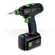Festool 564565 15V 5.2 Ah Cordless Lithium-Ion Mid-Handle Drill Driver PLUS