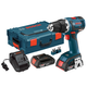 Factory Reconditioned Bosch DDS182-02L-RT 18V Cordless Lithium-Ion 1/2 in. Brushless Compact Tough Drill Driver Kit with L-BOXX 2 Case