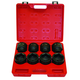 ATD 6401 8-Piece 3/4 in. Drive 6-Point SAE Impact Socket Set
