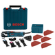 Bosch GOP40-30C StarlockPlus Oscillating Multi-Tool Kit with Snap-In Blade Attachment & 5 Blades