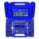 Irwin Hanson 26377 117-Piece Machine Screw/SAE/Metric Tap, Die, Extractor and Drill Bit Deluxe Set