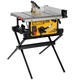 Factory Reconditioned Dewalt DWE7490XR 10 in. 15 Amp Site-Pro Compact Jobsite Table Saw with Scissor Stand