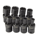 SK Hand Tool 33300 8-Piece 3/8 in. Drive SAE Swivel 6 Point Impact Socket Set