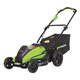 Greenworks 2500502 40V G-Max 4.0 Ah Cordless Lithium-Ion 19 in. DigiPro Lawn Mower