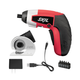 Skil 2354-12 4V IXO Compact Max Lithium-Ion Driver with Cutter Attachment and 5-Piece Bit Set