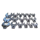 V8 Tools 7917 17-PIece 1/2 in. Drive Metric Jumbo Crowfoot Wrench Set