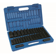 Grey Pneumatic 1512DM 30-Piece 1/2 in. Drive SAE/Metric Deep Socket Set