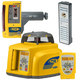 Spectra Precision GL422-14 Dual Slope Grade Laser with CR600 Receiver and Ni-MH Batteries