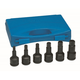 Grey Pneumatic 8096H 6-Piece 3/4 in. Drive Hex Driver Set