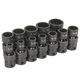 Grey Pneumatic 1612U 12-Piece 3/8 in. Drive 12-Point SAE Universal Impact Socket Set