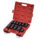 Sunex Tools 4632 11-Piece 3/4 in. Drive Wheel Service Impact Socket Set