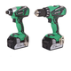 Factory Reconditioned Hitachi KC18DBFL 18V Lithium-Ion Brushless 2- Piece Combo Kit
