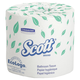 Scott 4460 550 Sheets/Roll 2-Ply Standard Bath Tissue (80-Pack)