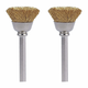 Dremel 536-02 1/2 in. Brass Brushes (2-Pack)