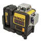 Dewalt DW089LR 12V 3 x 360 Degrees Red Line Laser